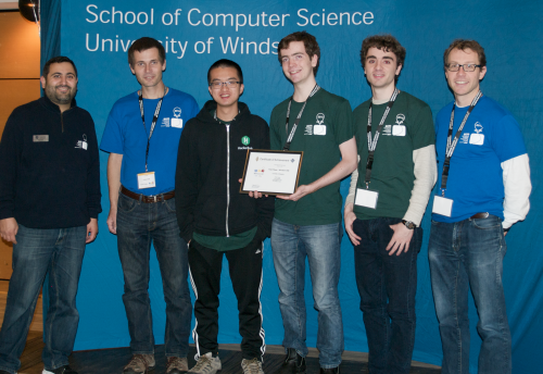 Waterloo Black ACM team 2015