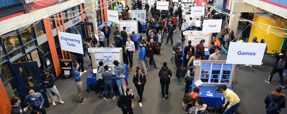 banner showing 2019 Computer Science and Software Engineering Capstone Design Symposium