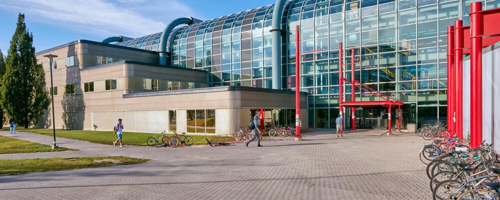photo of the Cheriton School of Computer Science at Davis Centre