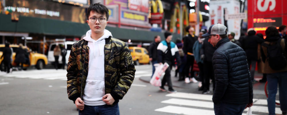 photo of Haonan Duan in NYC