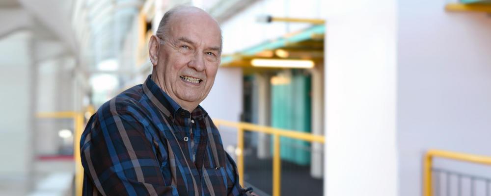photo of Distinguished Professor Emeritus Don Cowan