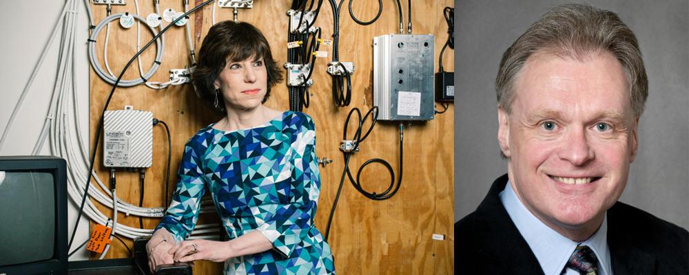 photo of Research Professor Maura Grossman and Professor Gordon Cormack