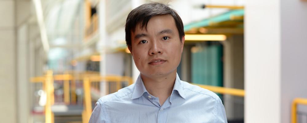 PhD graduate Xu Chu