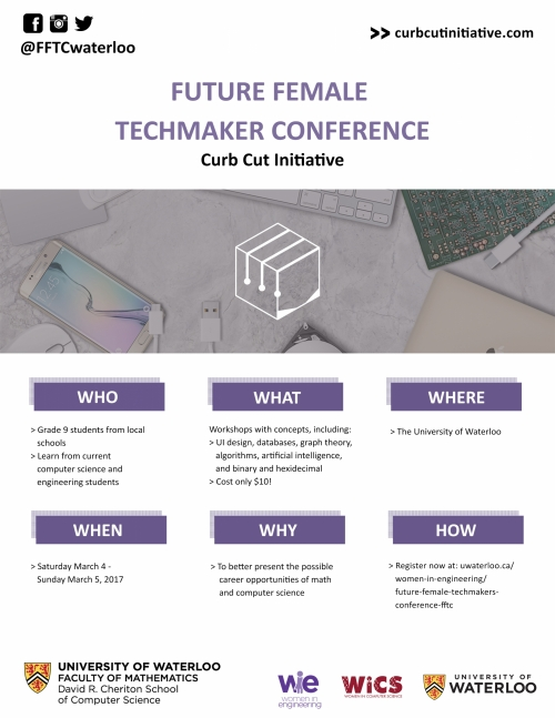 Future Female Techmakers Conference flyer