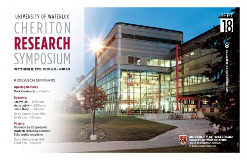 Cheriton research symposium