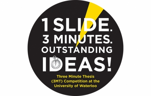 Three-minute thesis (3MT) logo