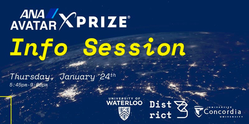 ANA Avatar XPRIZE banner
