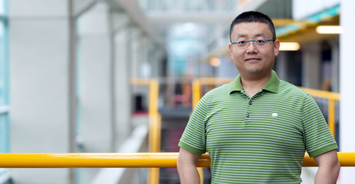 photo of PhD student Chang Ge