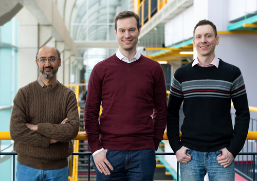 photo of Christian Gorenflo, Srinivasan Keshav and Lukasz Golab