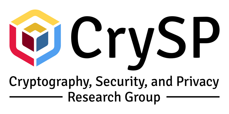 Cryptography, Security, and Privacy research group logo
