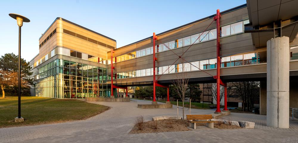 photograph of the Davis Centre