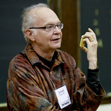 DLS speaker Don Knuth