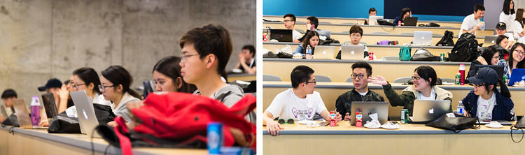 photo of students at first Equithon