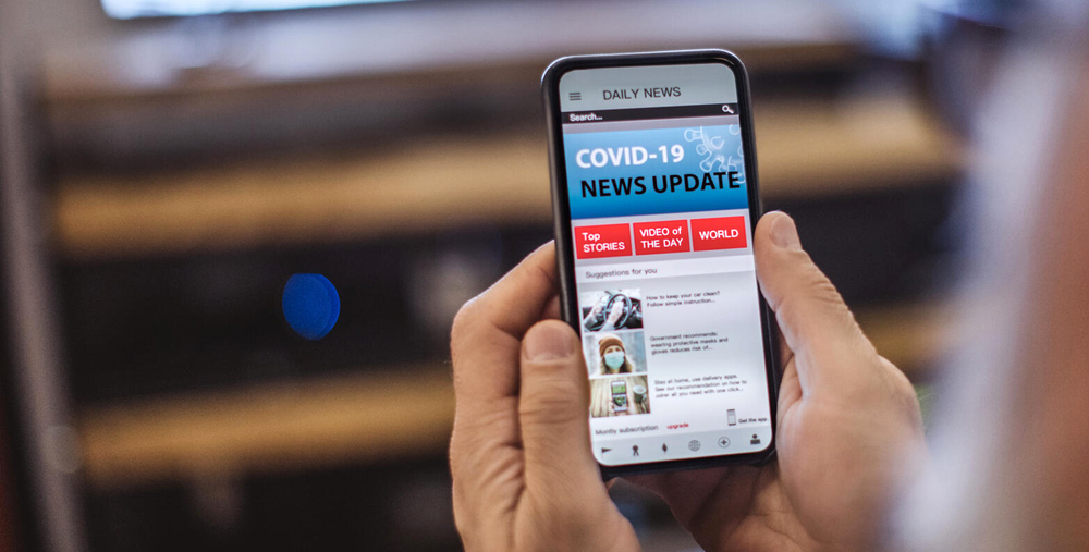 image depicting getting health information online