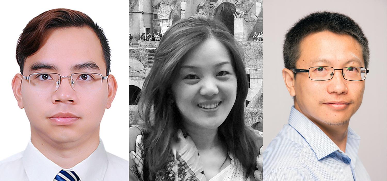 photo of Hung Pham, Lin Tan and Yaoliang Yu