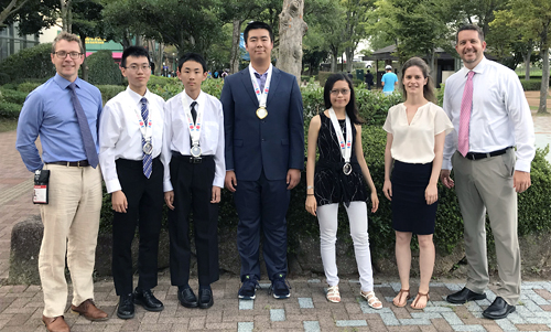 Waterloo team at 2018 International Olympiad in Informatics