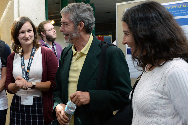 photo of Ivana Kajić (on left) with David Cheriton
