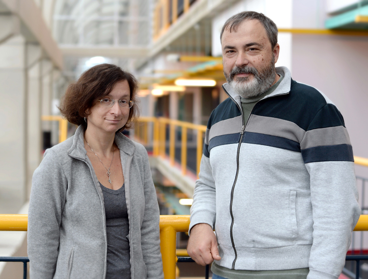 photo of Olga Veskler and Yuri Boykov
