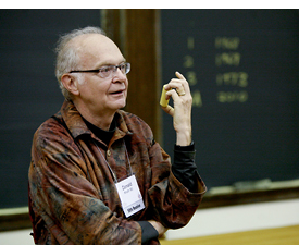 Tranh dán tường Code Thuật toán, Donald Knuth