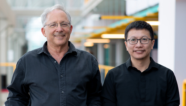 photo of Professors Shai Ben-David and Yaoliang Yu