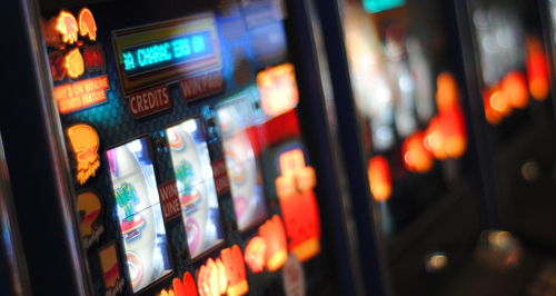 photo of slot machines