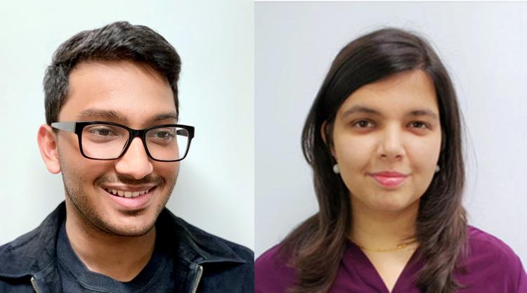 photo of Tanay Singhal and Mahika Phutane