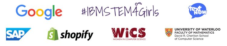 Technovation Waterloo sponsor logos
