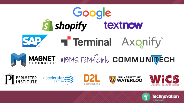 Technovation Waterloo sponsors