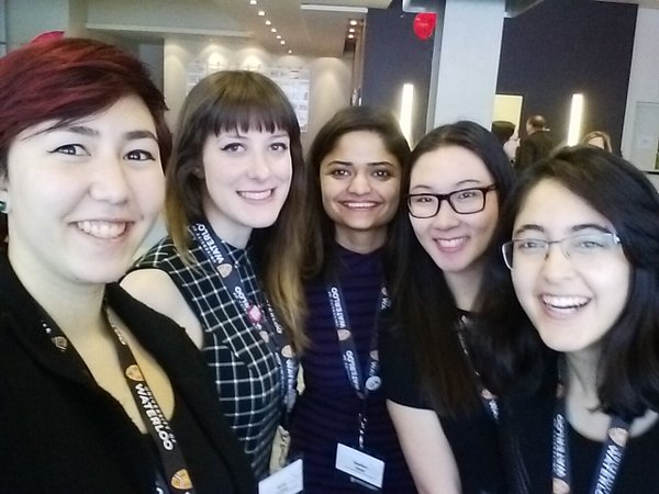 Women in Computer Science members at the Grace Hopper Celebration