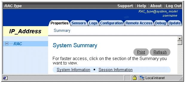 Remote Access Service: Dell OpenManage Server Administrator