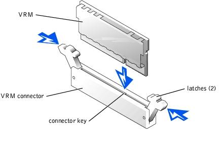 Dell PowerEdge 2650 VRM Installation